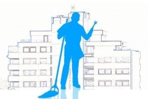 Outsourcing: Ungefähr 80% der Facility Services in Westeuropa werden von externen Dienstleistern ausgeführt.